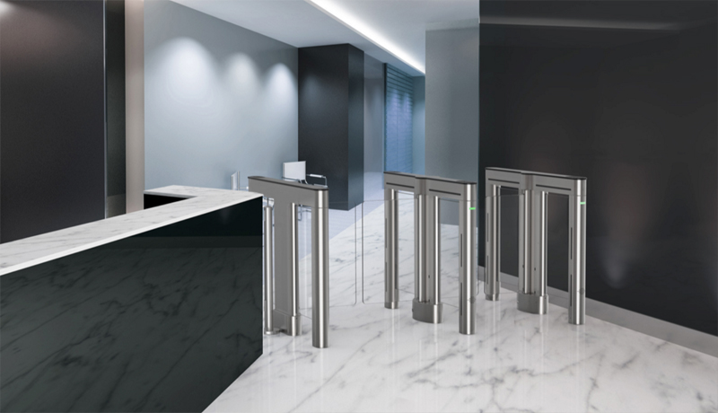 Swinging Barrier Optical Turnstile
