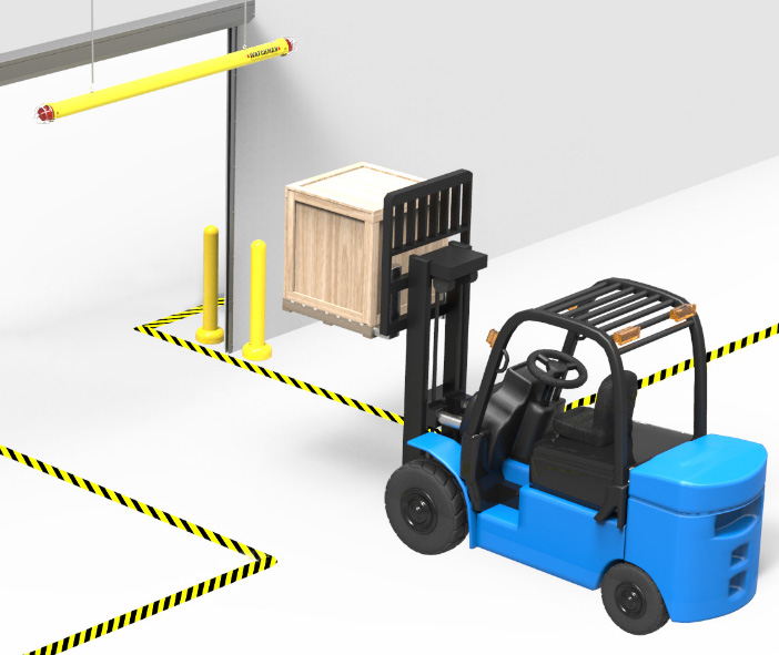 Forklift Accident Prevention with the Watchman