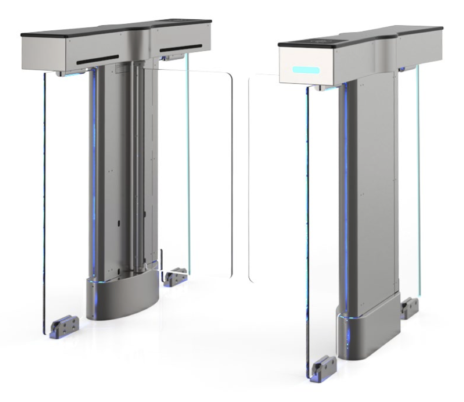 Alvarado SU4500 Swinging Barrier Optical Turnstile